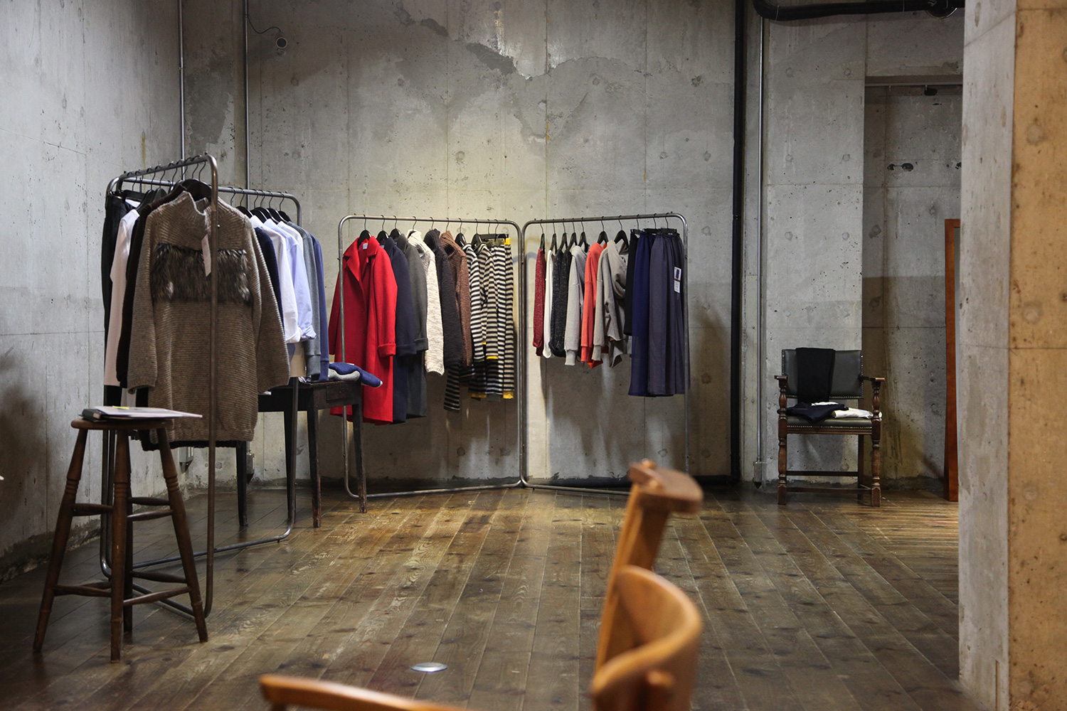 【A】 BX Inc. & raise 8 apparel 2020AW EXHIBITION @ STUDIO & SPACE IVVA