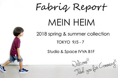 Fabriq Report  MEIN HEIM